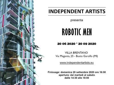 "Mostra ""Robotic Man""  a cura di Independent Artists – Villa Brentano – Busto Garolfo –  visita guidata al Museo Dario Mellone di Villa Rescalli Villoresi"